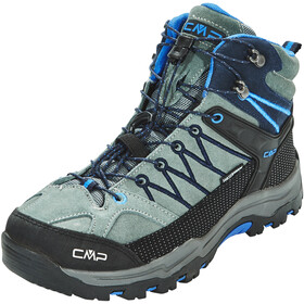 CMP Campagnolo Junior Rigel Mid WP Trekking Shoes Grey-Zaffiro